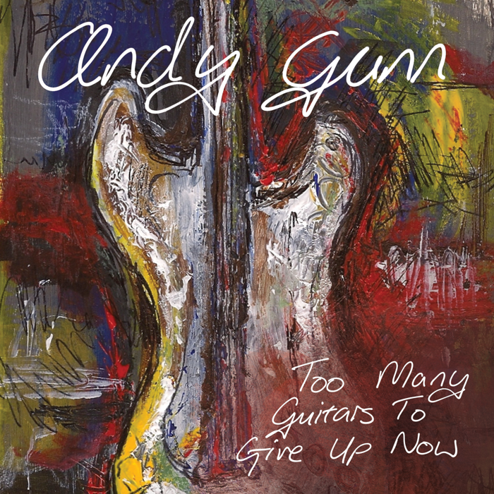 (Digital Download) Too many guitars to give up now album - Andy Gunn