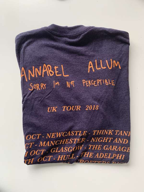 Tour Tee (Blackberry) - Annabel Allum