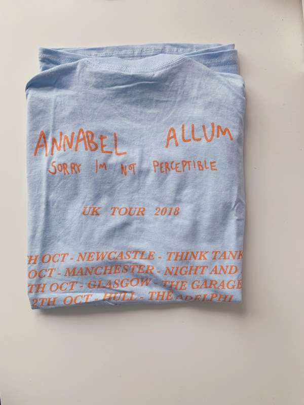 Tour Tee (Sky Blue) - Annabel Allum