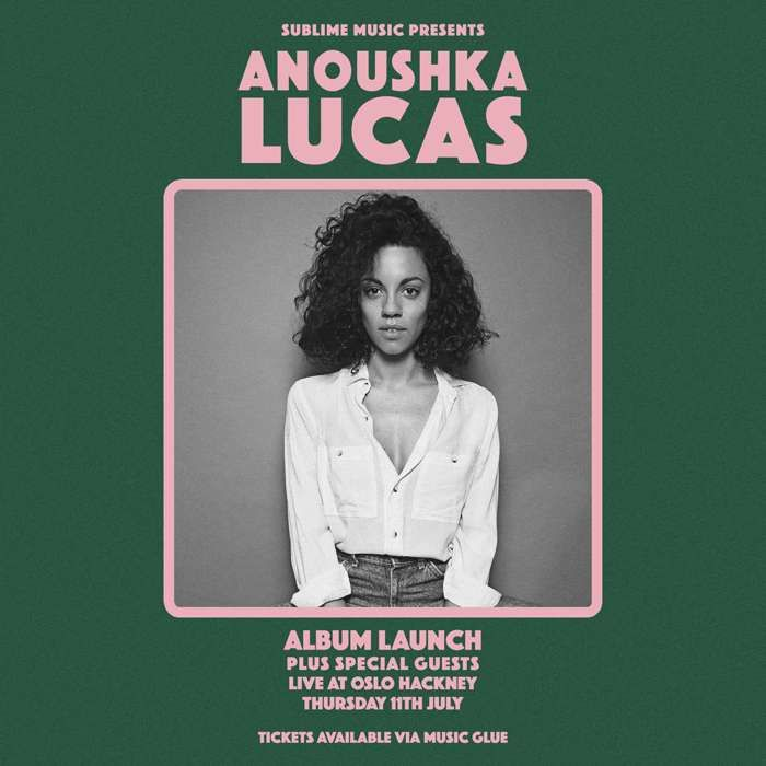 Ticket + CD - Anoushka Lucas