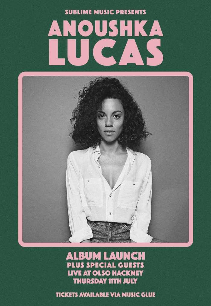 Ticket + Vinyl - Anoushka Lucas