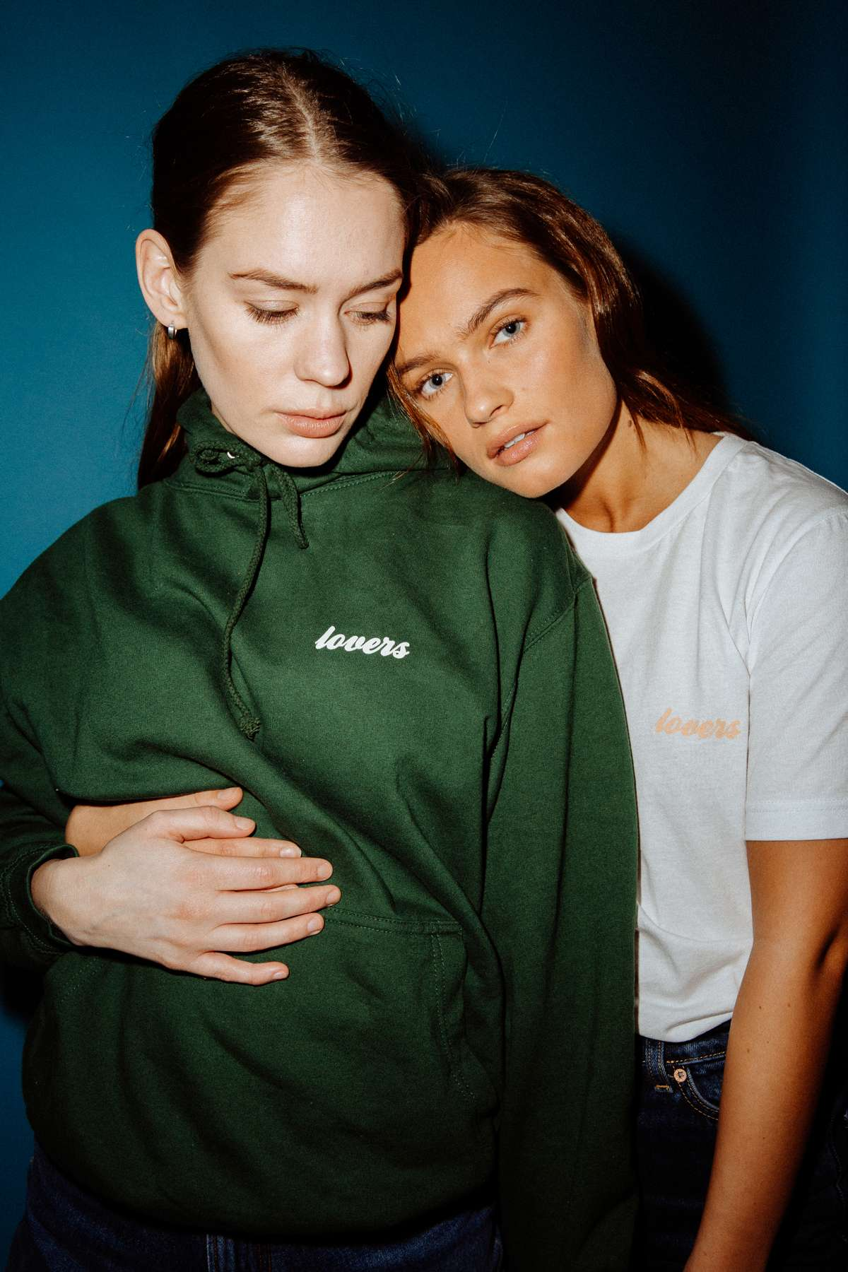 Lovers Hoodie - Green - Anna Of The North