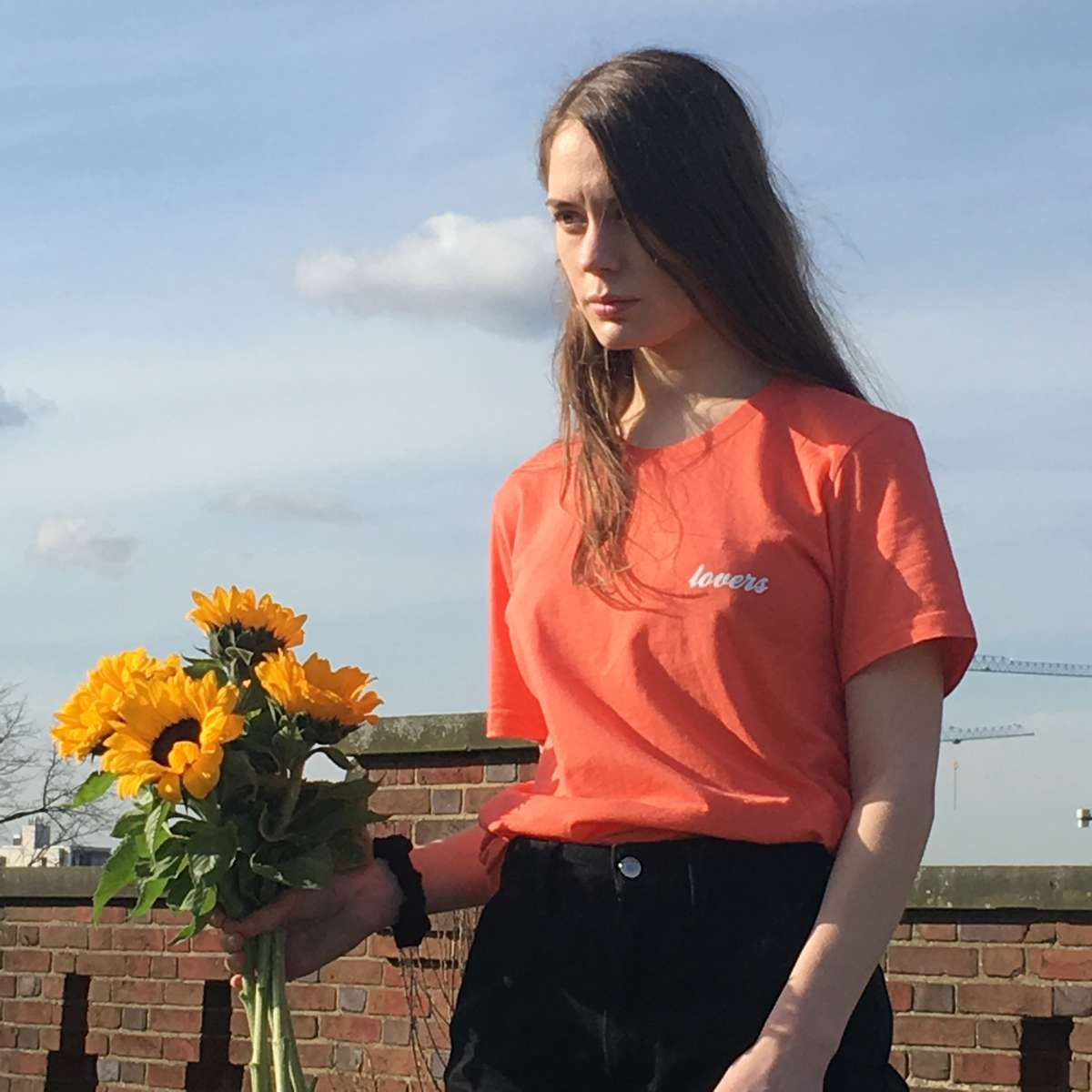 Lovers Tee - Coral - Anna Of The North