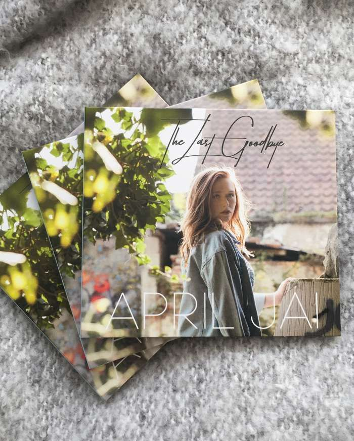 """The Last Goodbye"" Physical CD - April Jai"