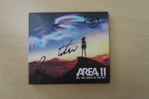 All The Lights In The Sky (CD) - Area 11