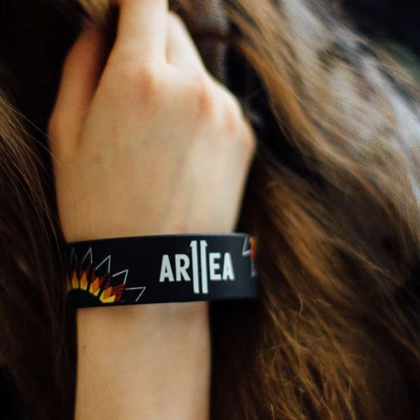 Area II Wristband - Black - Area 11