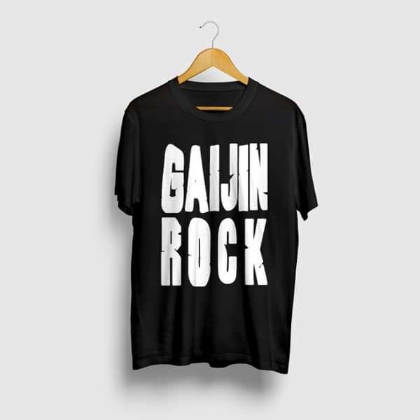 GAIJIN ROCK T-shirt - Black - Area 11