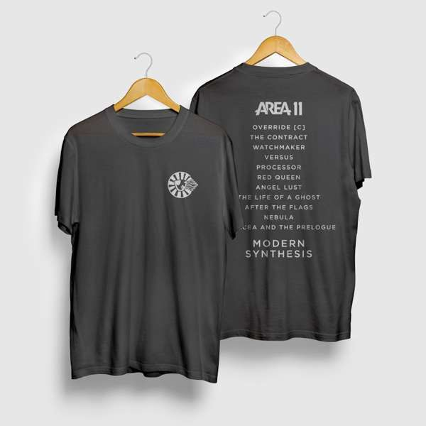 Modern Synthesis - T-shirt - Charcoal - Area 11