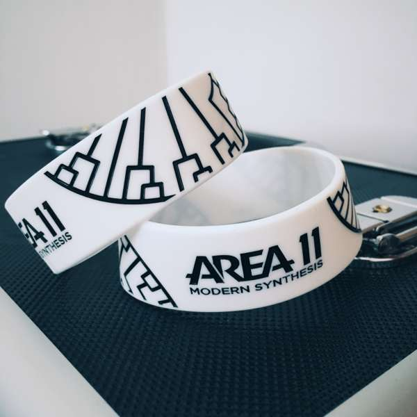 Modern Synthesis Wristband - White - Area 11