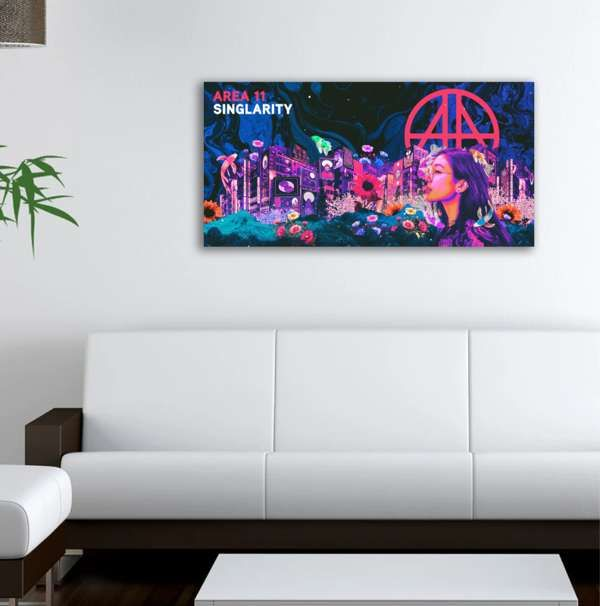 SINGLARITY Poster (Neo-Widescreen) - Area 11