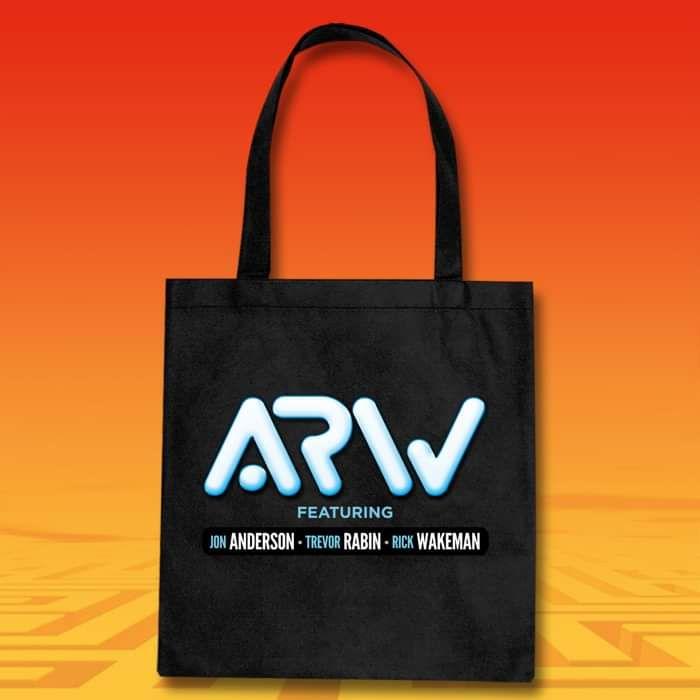 ARW Logo Tote Bag in Black or White - ARW