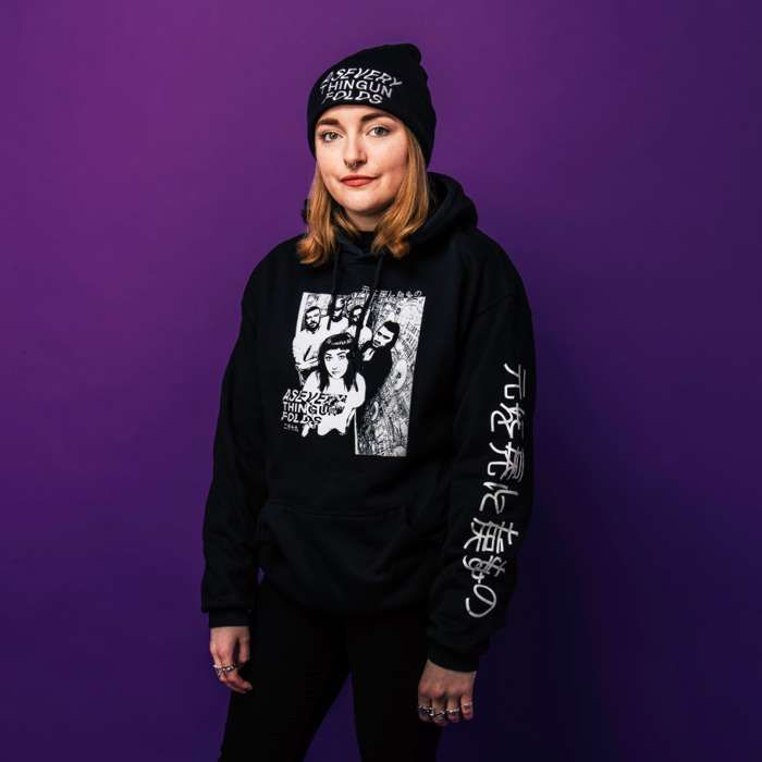 ON SALE - GRAPHIC HOODIE - As Everything Unfolds