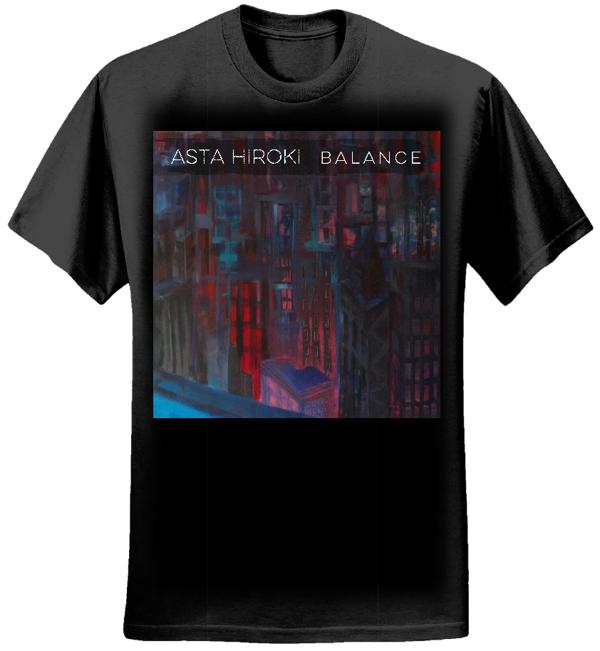 Womens Asta Hiroki Balance Tee (black) - Asta Hiroki