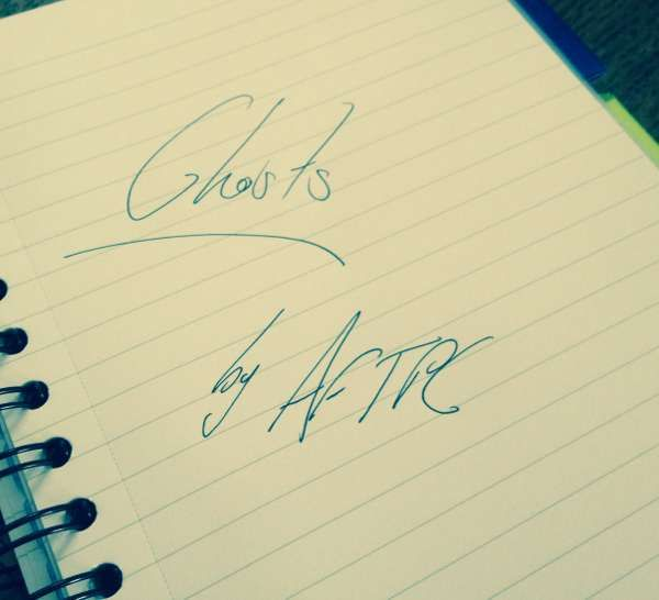 'Ghosts' Lyric Sheet - Auction for the Promise Club