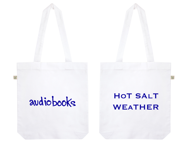 'Hot Salt Weather' tote bag - audiobooks