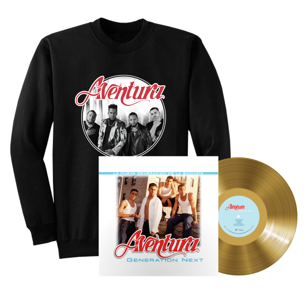 Generation Next Vinyl + Aventura Photo Crewneck Sweatshirt - Aventura