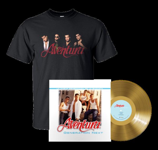 Generation Next Vinyl + Aventura Photo T-Shirt - Aventura