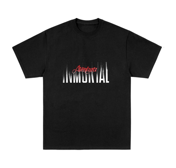 Inmortal Tour Black T-Shirt - Aventura