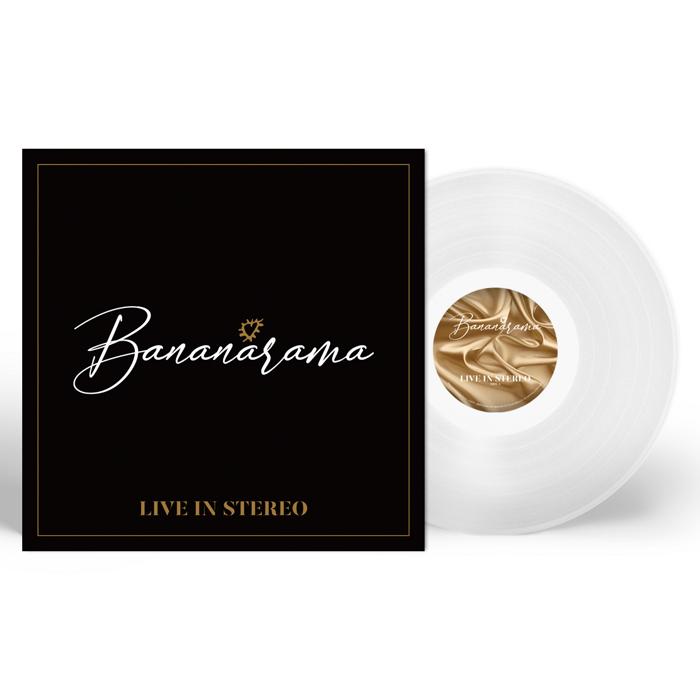 """Live in Stereo (Signed 12"""" White Vinyl) - Bananarama"""