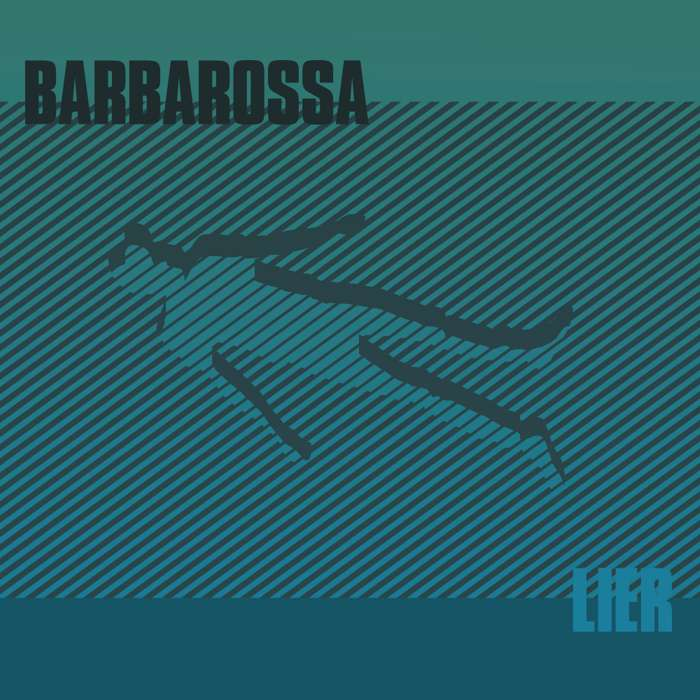 Barbarossa - Lier Signed CD with instant download of Don't Enter Fear and Griptide + Limited Edition Screen Print - Barbarossa