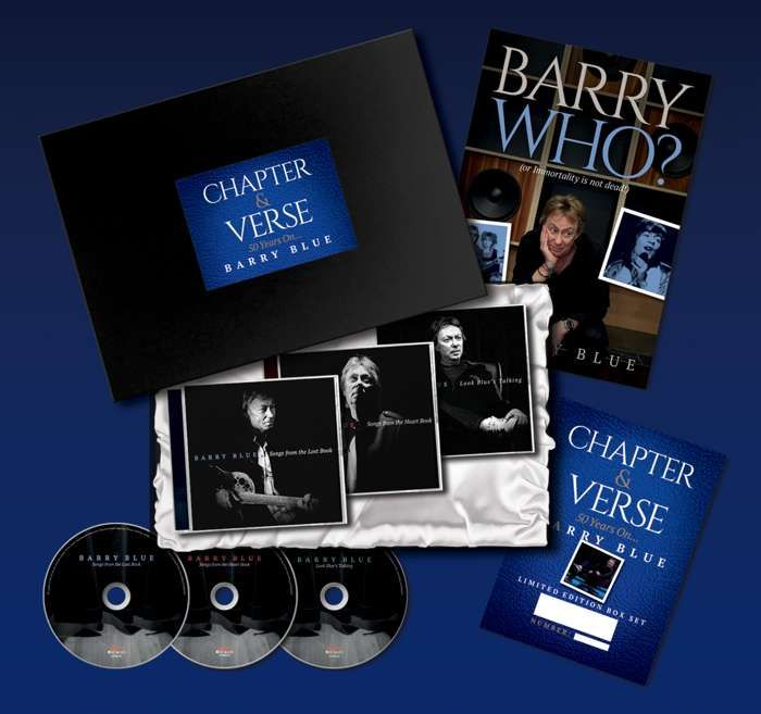 Chapter & Verse - 50 Years Of Barry Blue Box Set with Signed Certificate - Barry Blue: Chapter & Verse - 50 Years On... Barry Blue