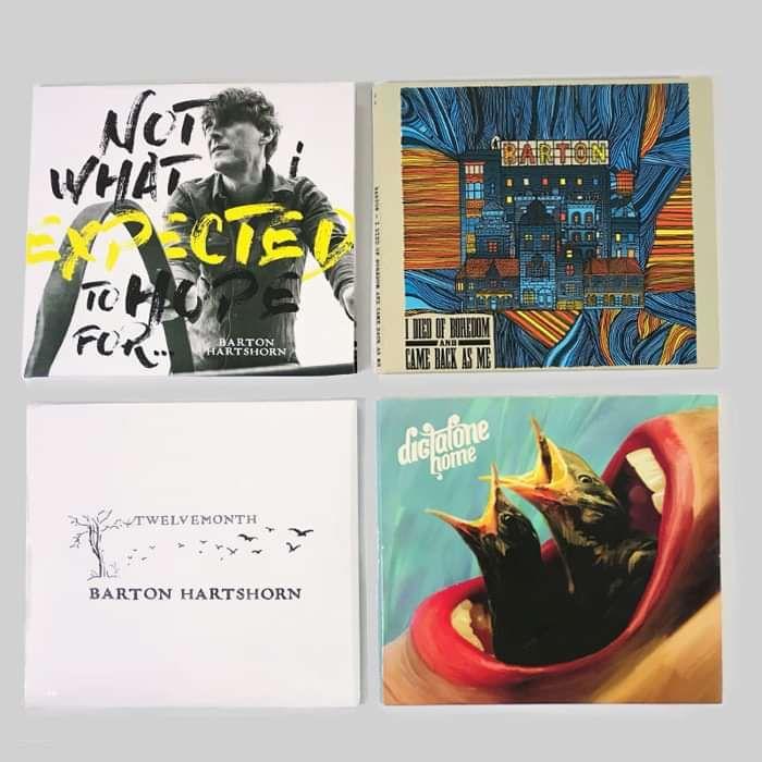 4 CDs! - Barton Hartshorn