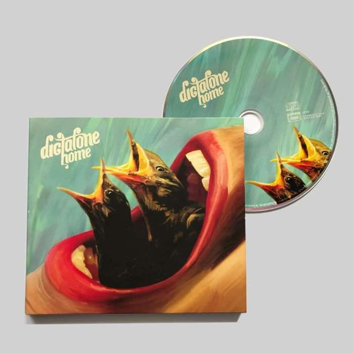 Dictafone - Home (CD) - Barton Hartshorn