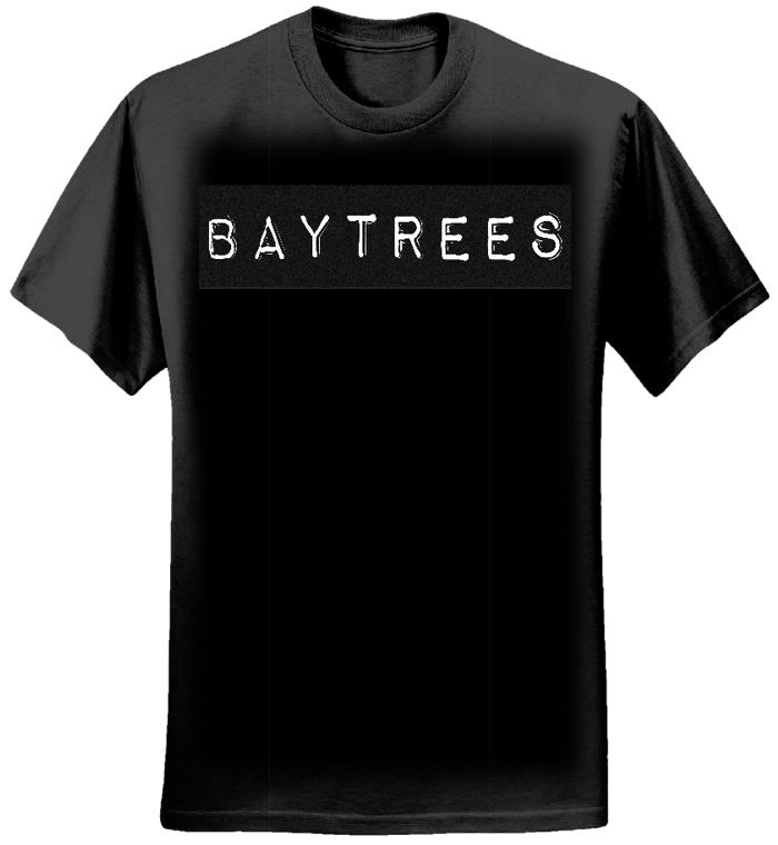 Black T-Shirt/Black Logo - Baytrees