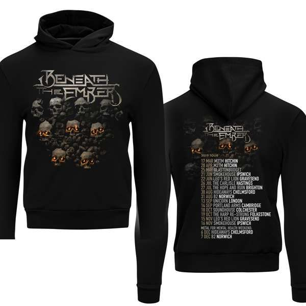 Beneath The Embers 2019 UK Tour Hoodie - Beneath The Embers