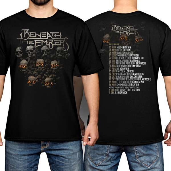 Beneath The Embers 2019 UK Tour Male T-Shirt - Beneath The Embers
