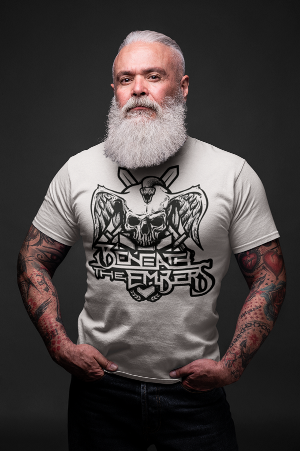 Beneath The Embers 2020 Male Black Logo T Shirt - Beneath The Embers