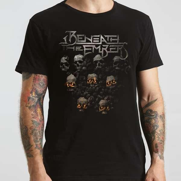 Beneath The Embers – Skulls T-Shirt - Beneath The Embers