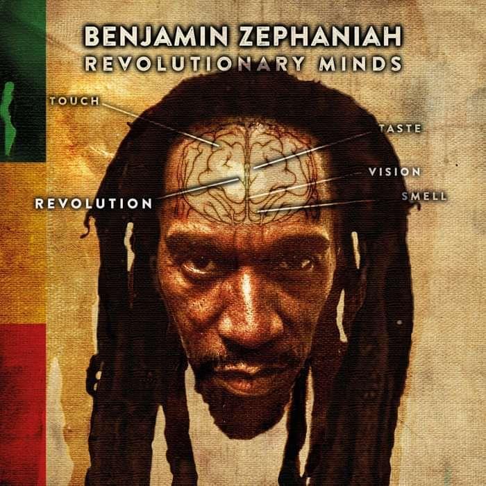 Revolutionary Minds - Signed CD - Benjamin Zephaniah