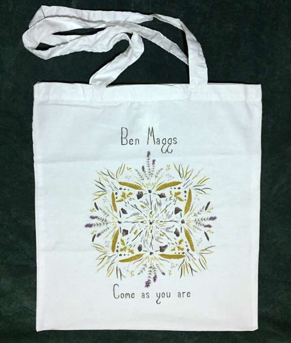 Ben Maggs 'Come as you are' Tote Bag - Ben Maggs
