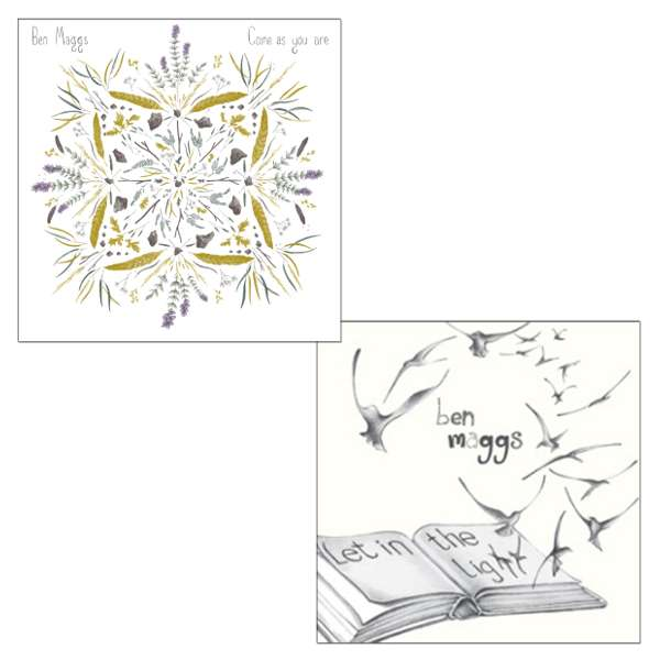CD Bundle Offer - 'Come as you are' & 'Let in the Light' - SIGNED - Ben Maggs
