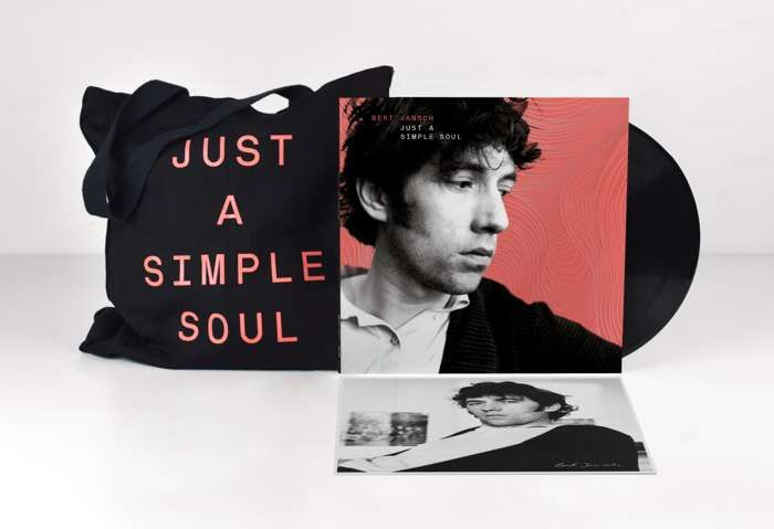 JUST A SIMPLE SOUL - 2 LP VINYL +  EXCLUSIVE LIMITED EDITION TOTE BAG - Bert Jansch MG