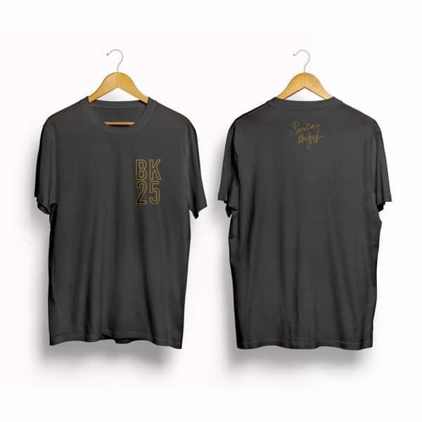 BK25 T-shirt (Grey) - Beverley Knight