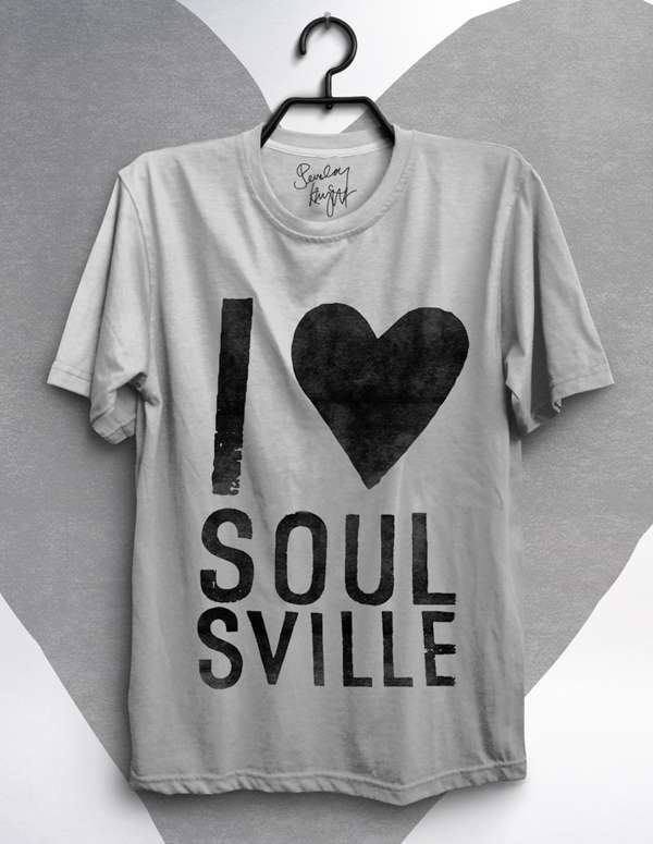 Soulsville T-Shirt (Grey) - Beverley Knight