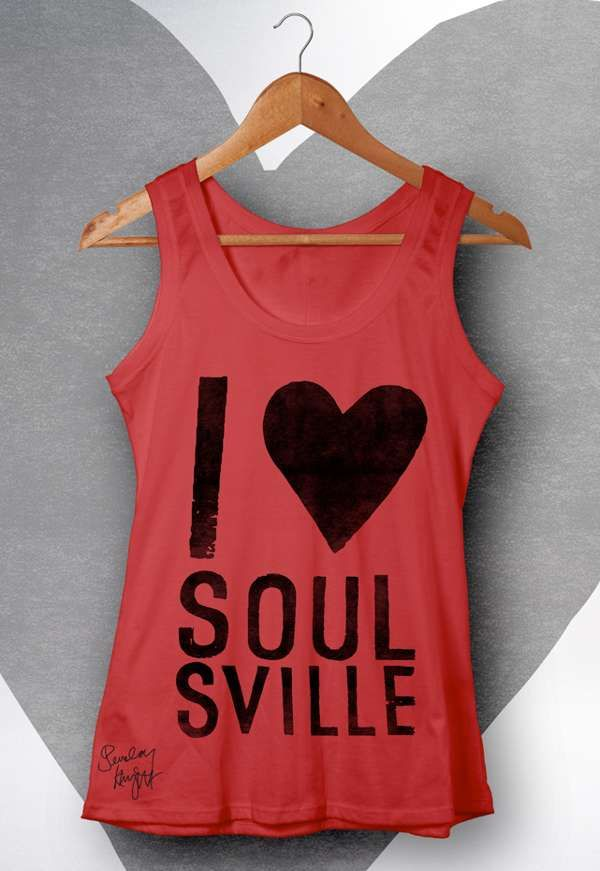 Soulsville Vest (Red) - Beverley Knight