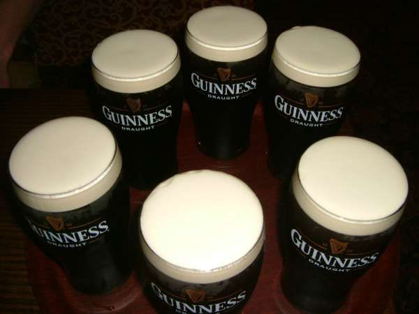 Buy the band a round of Guinness - BibleCode Sundays