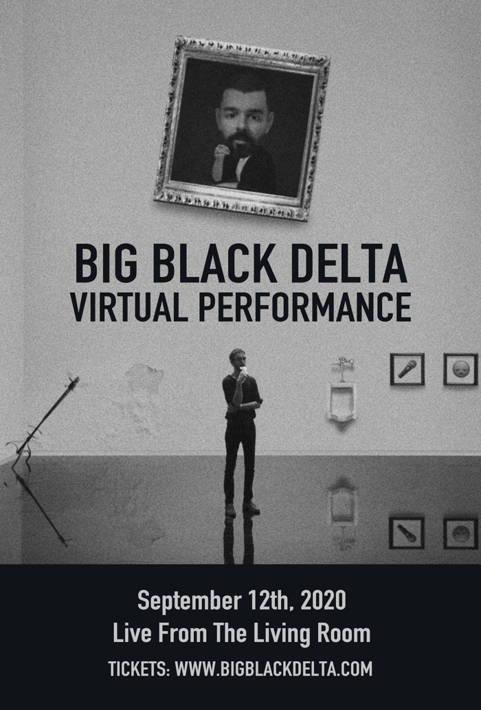 Virtual Performance - Live From The Living Room Ticket - Big Black Delta