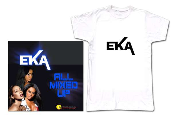 E-K-A T shirt and all Mixed up bundle - Biggroove Records