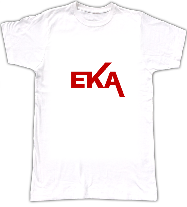 EKA  Red logo - Biggroove Records