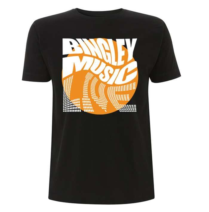 Blk Twisted Logo T - Bingley Music Live