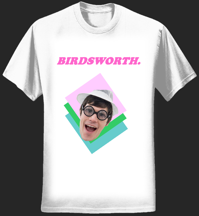 DJ Meat Raffle T-Shirt - Birdsworth