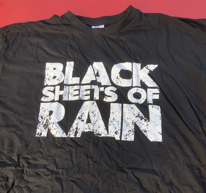 Logo T-shirt - Black Sheets of Rain