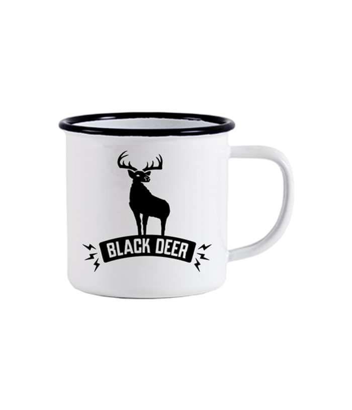 Black Deer Metal Mug - Black Deer Festival