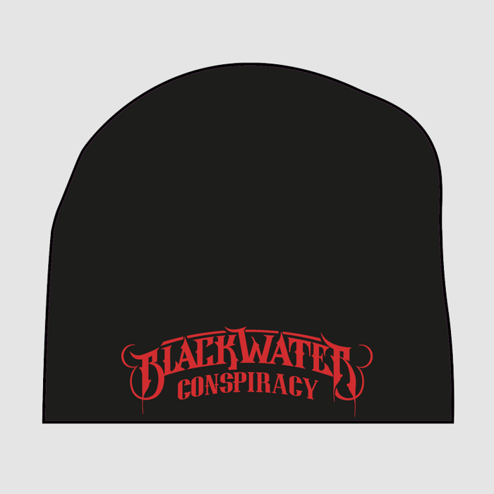 Knitted Beanie (Red Logo) - Blackwater Conspiracy