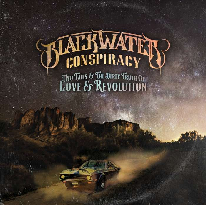 LIMITED EDITION: Two Tails & The Dirty Truth of Love & Revolution Signed & Numbered Art Print - Blackwater Conspiracy