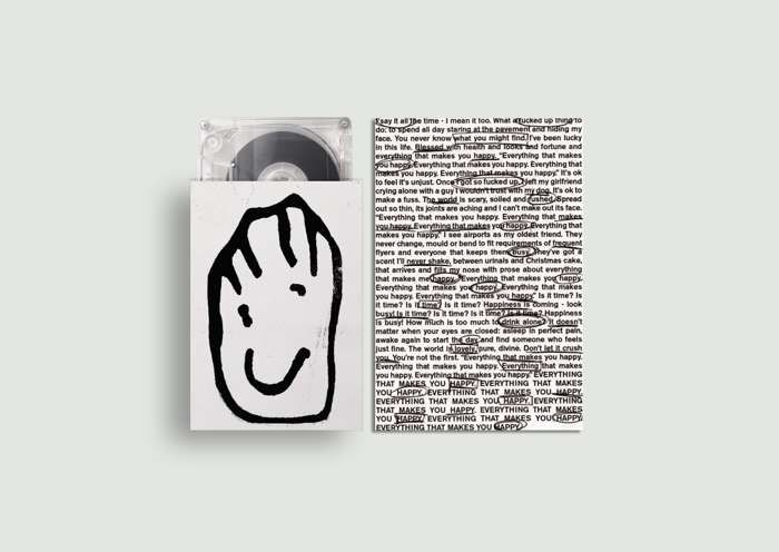 Everything That Makes You Happy - Cassette + Signed Postcard - Blaenavon